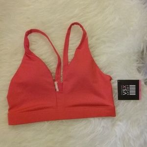 VSX Sports Bra Coral Body Wicking Size Small